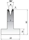 Матрица T80-10-26