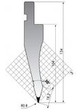 Пуансон PS.134-30-R08