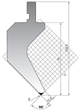 Пуансон PK.135-90-R08/R025