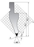 Пуансон P.97-45-R08/R15