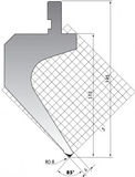 Пуансон P.145-85-R08
