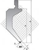 Пуансон P.150-88-R08-R3