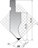 Пуансон P.95-88-R3