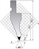 Пуансон P.97-45-R08-R15
