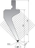 Пуансон PG.135-60-R08