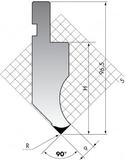 Пуансон PK.97-90-R08/R025