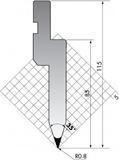 Пуансон PU.85-35-R08