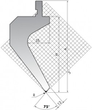 Пуансон TOP.175-75-R08/R2