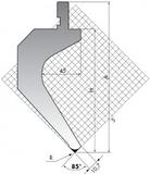 Пуансон TOP.175-85-R08/R2