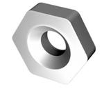 Пластина HNUM - 090408 ВК8(В35) шестигранная dвн=5мм(11114) со стружколомом