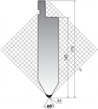 Пуансон TOP.175.60.R5