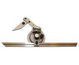 Угломер 0-180° тип1 2УМ с нониусом цена дел. 2 мин. для измерения наружных углов (КрИн)